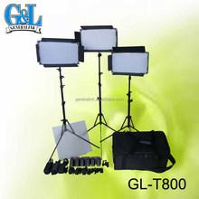 LED video panel portable light kits GL-T800