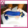 Hotsale good cold diamond blue color hair baby honey i tip u tip pre-bonded elegance micro ring straight hair