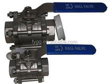 vacuum tight ball valve