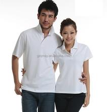 2015 senhoras de moda camisa pólo branca made in vietnam personalizado branco e azul vermelho