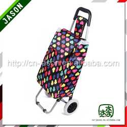 folding shopping trolley american type rack