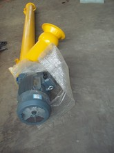 Diameter 323 screw conveyor with double pitch blades