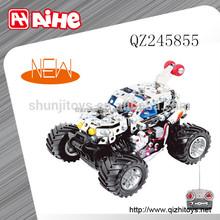 instructional a remote control car ,rc construction toys block car toy