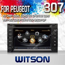 WITSON Car DVD Player for PEUGEOT 307 with GPS Special DVD with Dual Zone Function