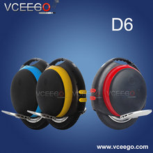 2015 new high quality self balancing 1 wheel cheap electric scooter moped D6