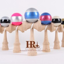double color kendama,kendama toy,stripe kendama