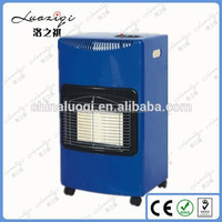Portable Ceramic infrared heater gas heater parts, Standing Room Gas Heater
