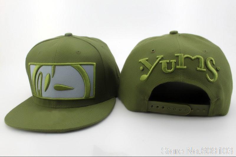 Aliexpress.com: Comprar Yums snapback sombreros y gorras in green más