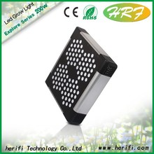 led grow light bar, aluminum housing led grow lights 200w 400w with passive cooling