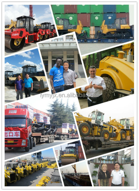 China famous brand YTO 16 ton tyre roller