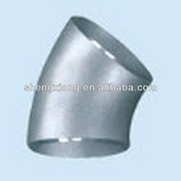 22.5 degree stainless steel elbow