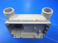 Precision made-to-order die casting aluminum enclosure for test equipment and also for trimming press