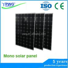 Hot sale mono solar panel price per watt solar panel
