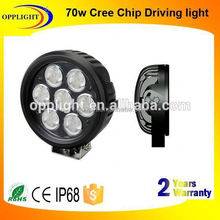 off road auto led working light 70w led work light driving 10w Emark Certificate