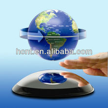 Beautiful Design Magnetic Floating gift box with globe