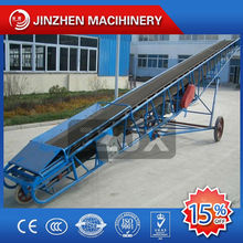 Building material crushing and screening plants rubber conveyor belt price TDY400 belt conveyor