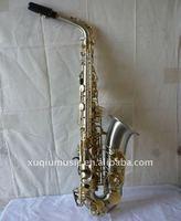 Curpronickel Alto Saxophone /Italy Pad/Black Saxophone