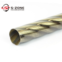 High Quality Metal Iron Curtain Rod Made In China with competitive price