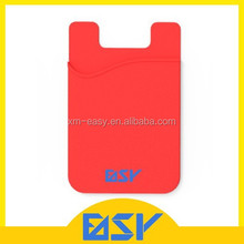 High quality mini handy colorful silicone cell phone sticker