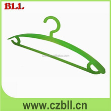best selling thick cheap plastic hanger for fabric samples