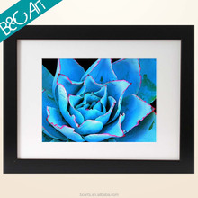Botanical blue rose oil painting flower picture