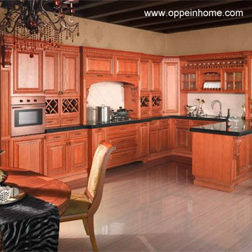 habsbourg d 39 armoires de cuisine en bois massif de ch ne rouge armoire de cuisine id du produit. Black Bedroom Furniture Sets. Home Design Ideas