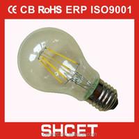 NEW cet-020 a60 2w 4w 6w 8w edison bulb led dimmable led filament bulb