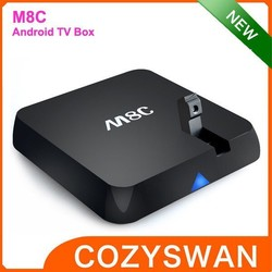 android tv box M8C Support 2.4GHz wireless mouse and keyboard