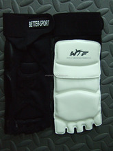 China supplied taekwondo foot protectors, foot guards for taekwondo