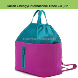 2015 cheap stripe polyester tote trendy mommy bags for baby