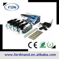 central locking of High Quality lower pricecar key lock remote certral door car center lock for easy car alarm system