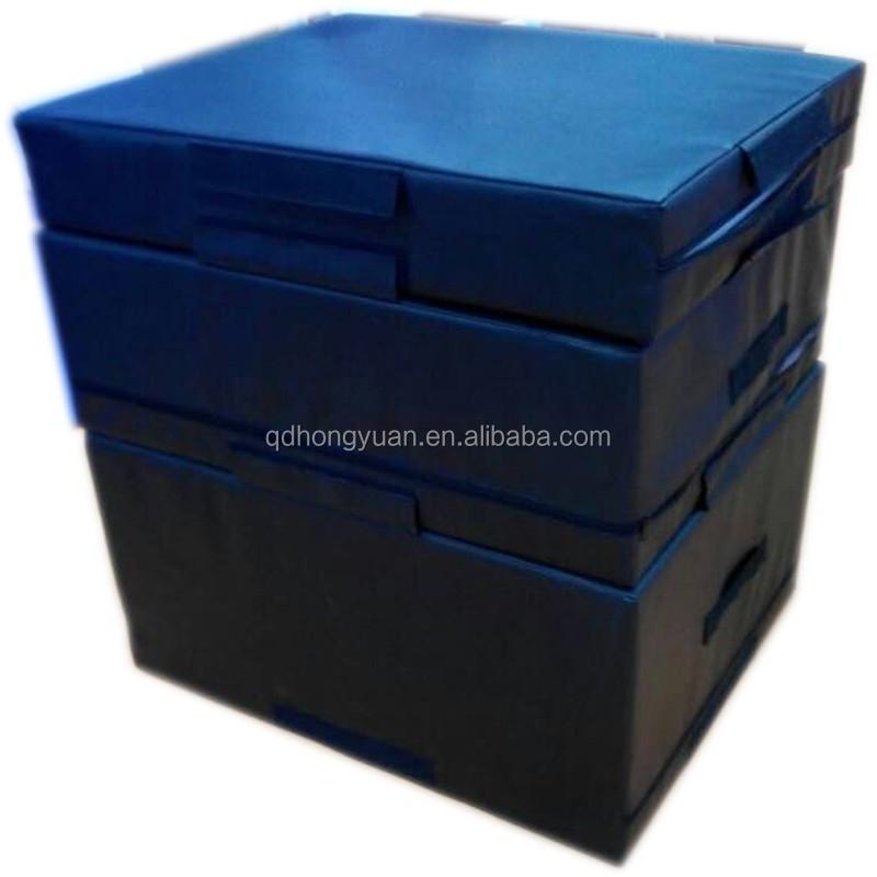 Мягкая пена plyo поле, прыжки box, оборудование для тренажерного зала