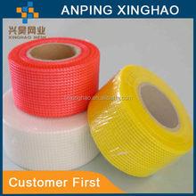 120g, 145g orange fiberglass mesh cloth tape (HX-426), Professtional Factory, high quality, European standard, CE, SGS Cert.