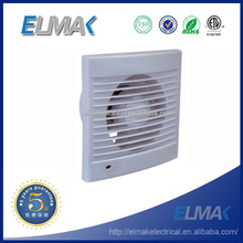 bathroom square plastic small exhaust fans with light lamp