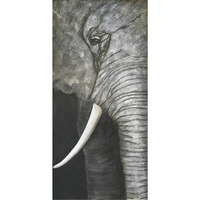 home decor abstract elephant painting