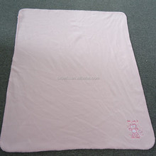 100% Polyester Factory Price Plain Dyed Cheap Wholesale Polar Fleece Baby Blankets Wholesale