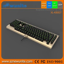China Suppliers unique design first class mechanical gaming keyboard