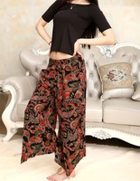 2015 The New Printing Bamboo Cotton Harem Pants Mom Pants Loose Casual For women Factory Direct 9650