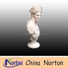 Style occidental artificielle marbre sculpté bustes NTMS-B256C