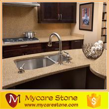 Mycare Luxury villa Prefab kitchen quartz countertops