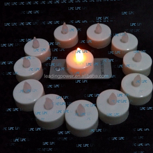 long lasting led tea light candle with remote control for birthday wedding