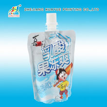 Stand Up Spout Pouches For Drink,Easy Carry Spout Pouch For Drinking,Leak Proof Clear Drink Stand Up Spout Pouch