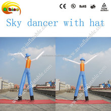 2015 Good advertising effect cheap inflatable air dancer costume