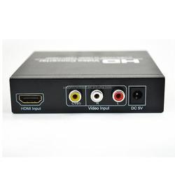 High Quality Composite AV CVBS L/R RCA Audio HDMI to HDMI 720P/1080P HD Video Converter