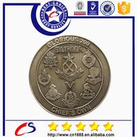 Shenzhen souvenir token coin with coin box