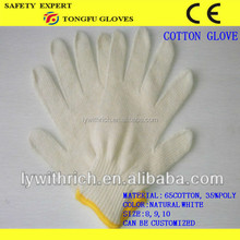 hot sale, free sample, high quality industrial cotton hand driving gloves price
