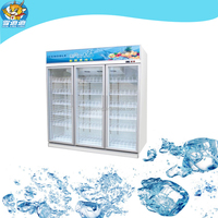 1500L commercial vertical 3 doors refrigeratored chocolate display case