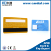 china factory price free sample plastic pvc magnetic loyalty card printing