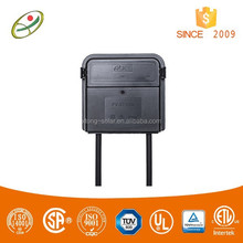 High quality TUV and CSA approved thin film solar junction box for power system