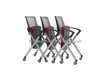 hot sale folding swivel bussiness chair falsh meeting chair X2-03 kailin factory